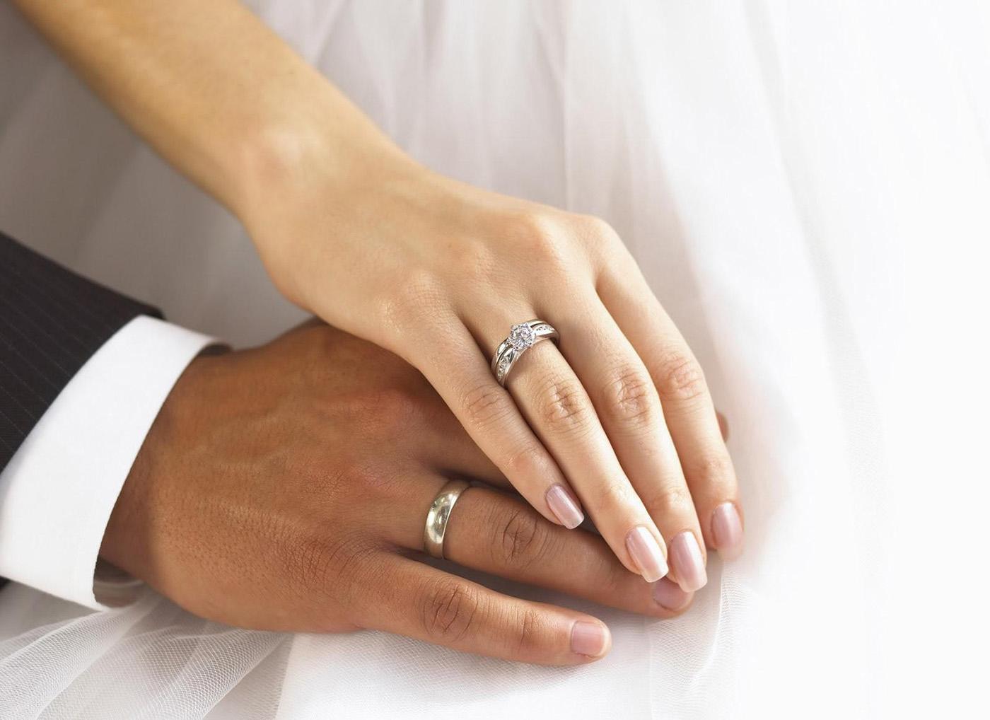 обручальное кольцо фото на фото